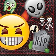 Emoji Halloween Lunch Napkin