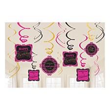 Fabulous Swirl Decorations