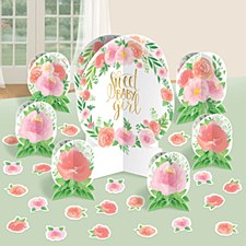 Table Decorating Kit Sweet Baby Girl