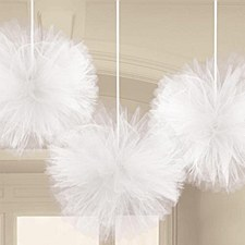 TULLE FLUFFY DECORATION