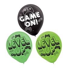 Level Up Latex Balloons