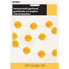 Honeycomb Garland Yellow