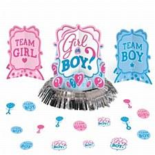 Gender Reveal Decorating Kit