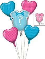 Gender Reveal Balloon Bouquet