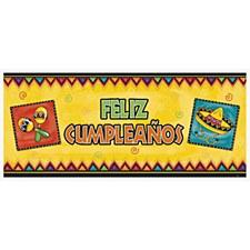 Giant Banner Feliz Cumpleanos