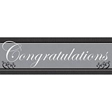Congratulations Giant Banner