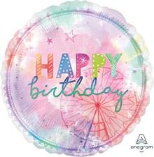 Girl-Chella Mylar Happy Birthday Balloon