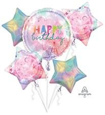 Girl-Chella Happy Birthday Bouquet Balloons
