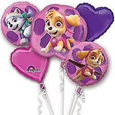 Sky & Everest Paw Patrol Balloon Bouquet