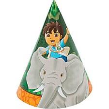 Diego's Biggest Rescue Cone Hats - Paper