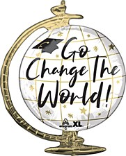 Go Change The World 23in.
