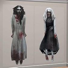 Halloween 2pc Scene Setter
