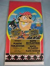 GOLD TOOTH PIRATE TABLECOVER