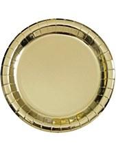 9in Goild Paper Plate