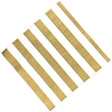 Gold Srtipe Napkins