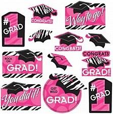 Graduation Pink&Black Value PK