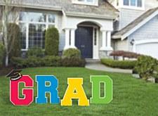 Grad Yard Decorations
