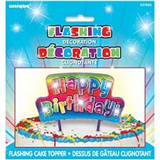 "Flashing ""Happy Birthday"" Candle"
