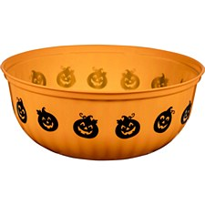 Halloween 11in Orange Bowl