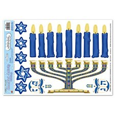 Hanukkah Activity Peel 'N Place