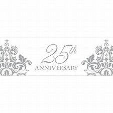 25th Anniversary Giant Banner