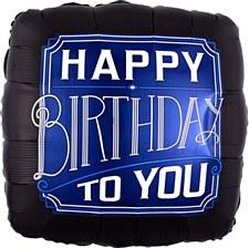 "28"" Happy Birthday Man"