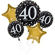 Sparkling Birthday 40TH Bouquet