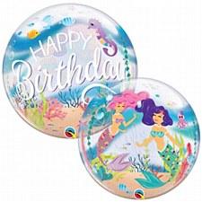 """22"""" Mermaid Bubble Balloon"""