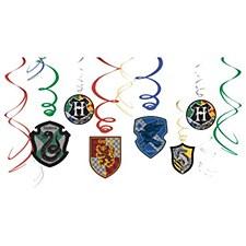 Harry Potter Swirl Decorations