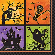 Haunted House Lunch Napkins
