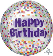 """15"""" Orbz Birthday Funfetti"""