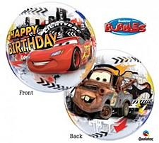 Disney Cars Bubbles Balloon