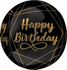 """16"""" Elegant Birthday Orbz"""