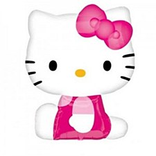 Hello Kitty Shape (Side Pose)