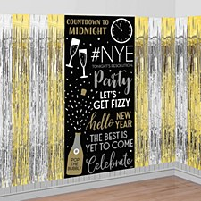 Happy New Year Photo Booth Scene Setter