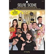 Happy New Year Selfie Scene