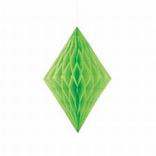 Lime Green Tissue Diamond