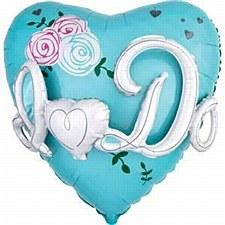 """28"""" I Do 3-D Heart"""