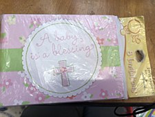 8ct Invitations Baby is a Bles