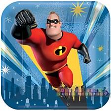 "Incredibles 2 7""Plates"