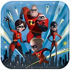 "Incredibles 2 9""Plates"