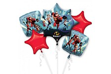 Incredibles 2 Balloon Bouquet