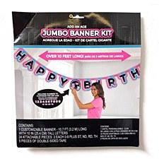 Internet Famous Jumbo Birthday Banner