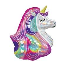 "30""Iridescent Heart Unicorn"