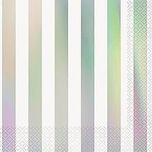 Iridescent Stripe Lunch Napkin
