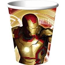 Iron Man 3 Cups
