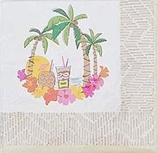 Island Luau Beverage napkins