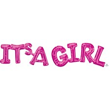 It's A Girl Air Filled Decoration