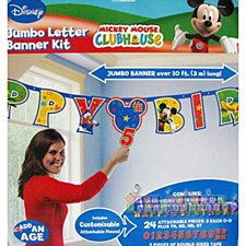 Mickey Mouse Jumbo Add-An-Age Letter Banner