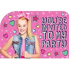 Jojo Siwa Invitations
